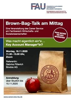 "Zum Artikel ""Was macht eigentlich ein*e Key Account Manager*in? – Digitaler Brown-Bag Talk am 16.11.2020"""